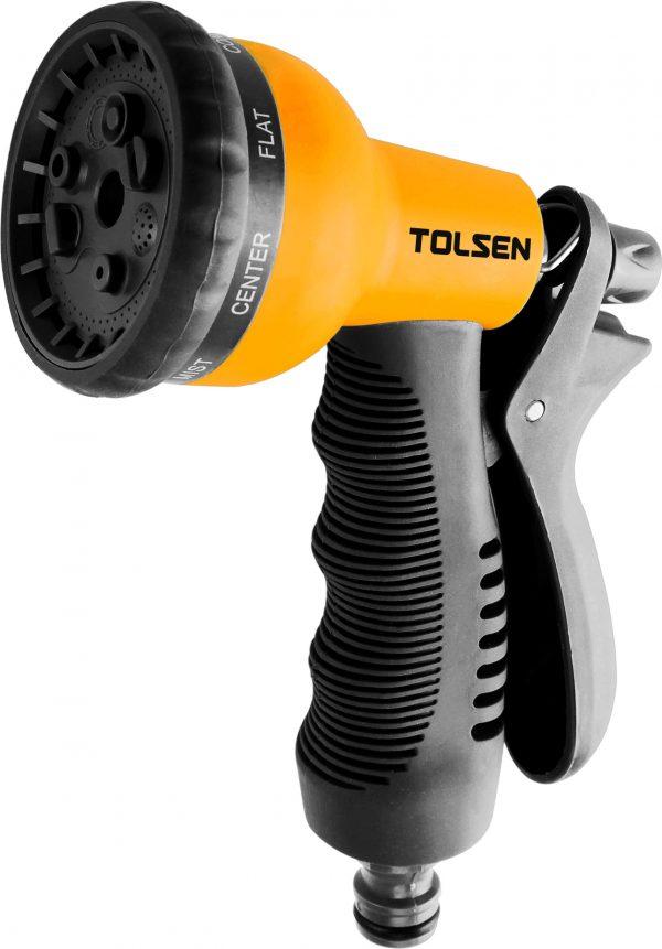 57100-tolsen garden nozzle spray gun 8 pattern-durable