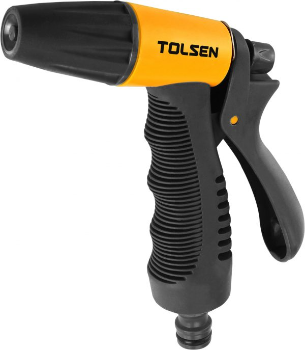 "Garden Nozzle gun-adjustable-tolsen-1/2"" hose universal"