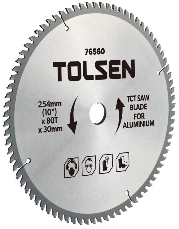 TCT circular saw Metal cutting Blade disc- 254mm x 80T- 30mm