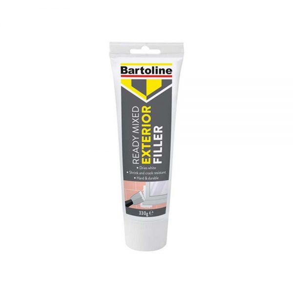 Bartoline Exterior filler-crack-gap-dries-white-outside-ready-to-use