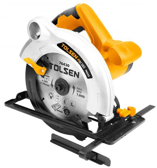 Circular saw-wood-plastic- professional-1300W-185mm TCT-blade-heavy duty- 79532