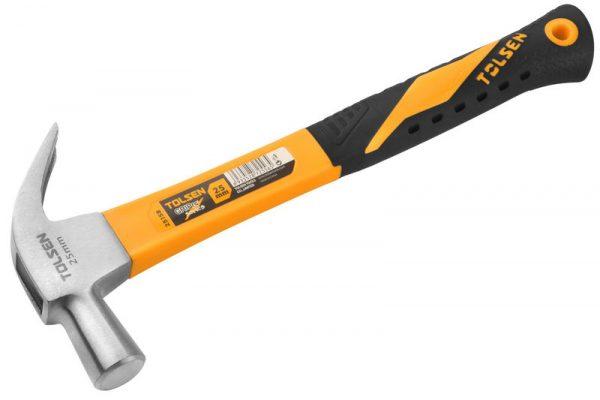 Claw hammer- fiberglass handle- 16oz-25mm
