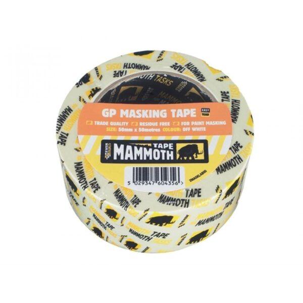 Everbuild masking tape trade-25mm-38mm-50mm-75mm
