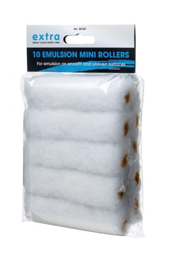 Harris 4 inch roller emulsion paint sleeves replacement-lynwood-100mm-10pack-bulk-pack