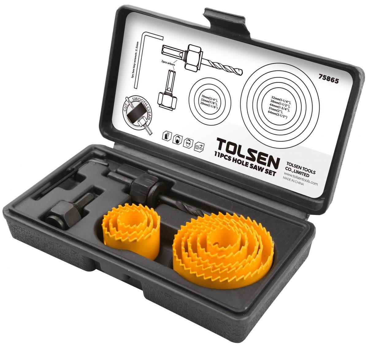Hole saw-plastic-wood-11pcs-kit-downlight-plastic-75865