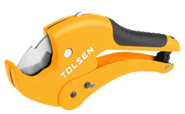 PVC pipe cutter- 3mm-42mm Ratchet plastic pipe cutter- 9 inch- Tolsen-33001