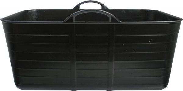 Rectangle flexible tub-rubble-bucket-builders-tubbie-victory tubbie-black-harris-50L-Large