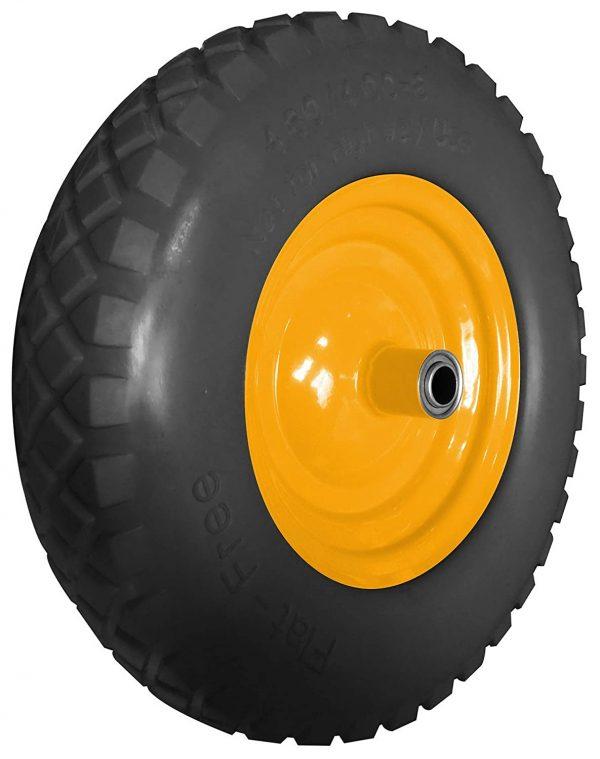 Replacement PU foam wheelbarrow wheel-puncture proof-hevy duty-construction-gardening-62635