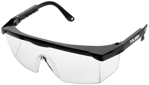 Safety glasses-specs-google-adjustable-unisex-impact resistant-clear-45071
