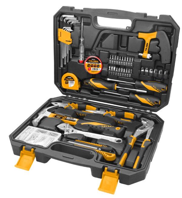 Tolsen- 119pcs tool kit set- household diy- christmas gift set- him- her-85350