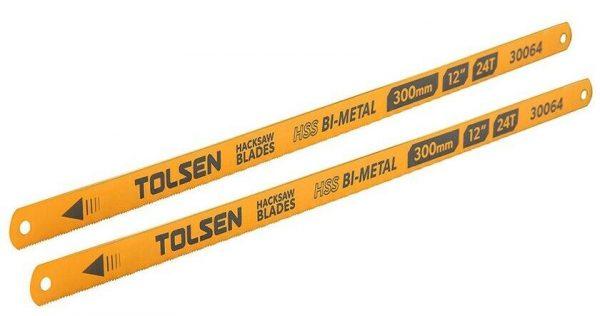 Tolsen-bi-metal-hacksaw-blades-replacement-cuts-metal-plastic-wood-fine-precise-300mm-12inches