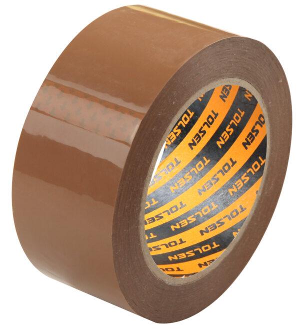 Tolsen-brown-parcel-tape-packing-bopp-48mmx50m-50212-50216